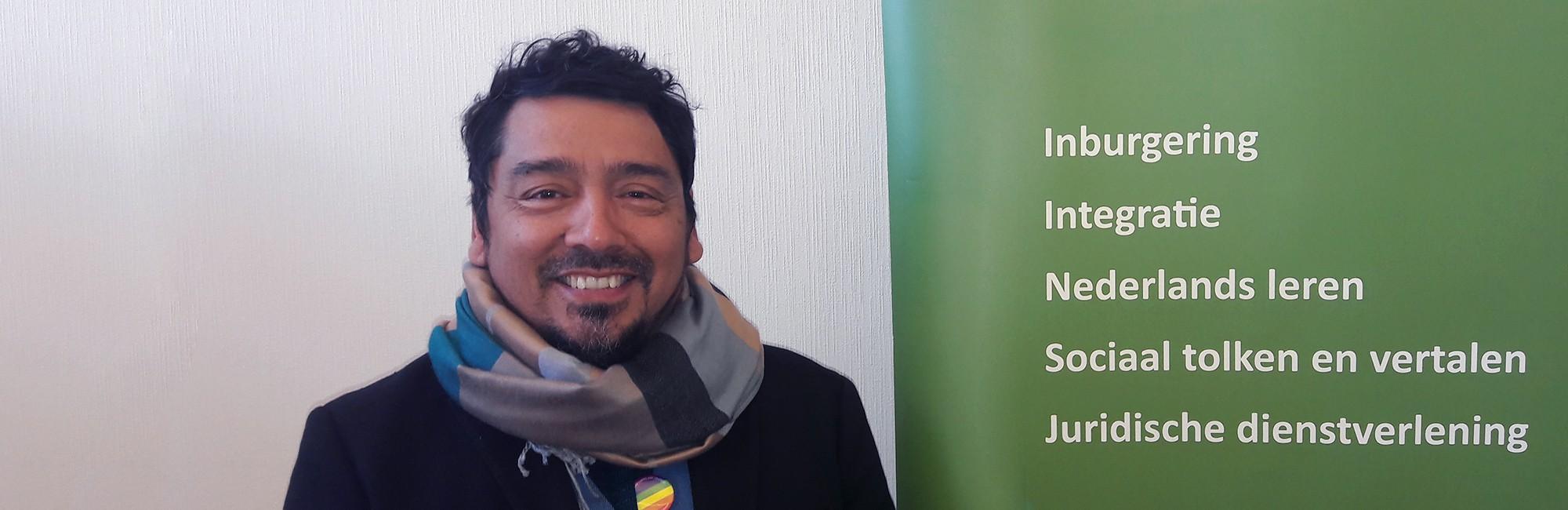 Foto van Oscar, docent maatschappelijke oriëntatie