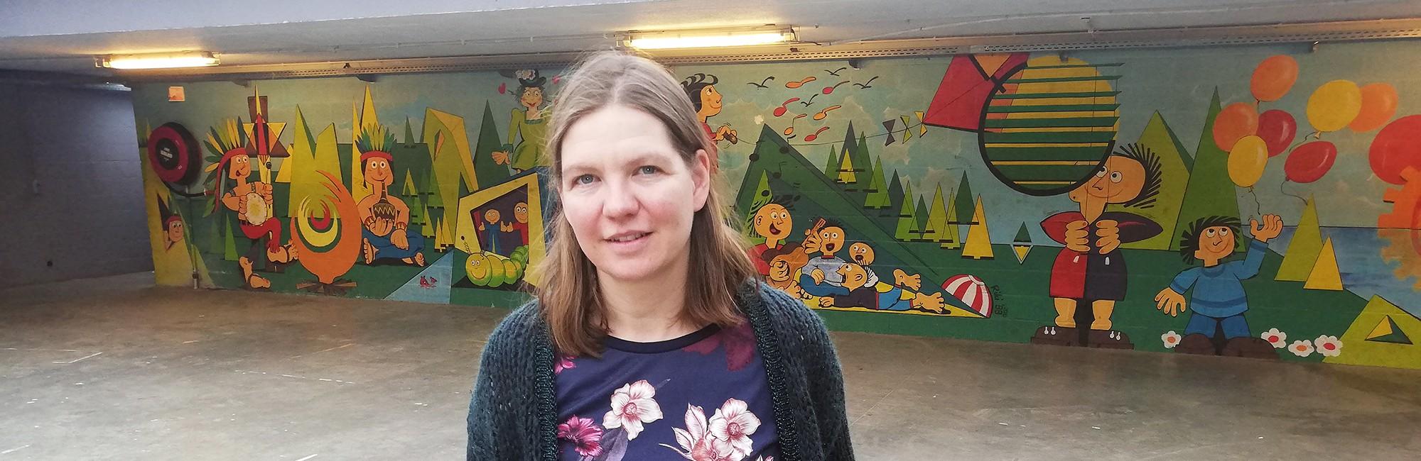 Foto van Evi van de vrijetijdsdienst van Kuurne zet in op diversiteit