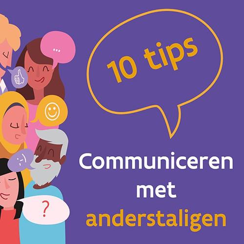 Download onze poster met 10 tips om te communiceren met anderstaligen