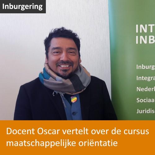 Knop. Video-interview met Oscar over de cursus maatschappelijke oriëntatie