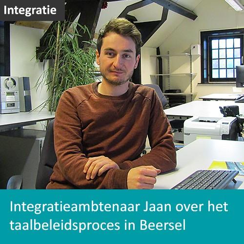 Knop. Lees het interview met integratieambtenaar Jaan over het taalbeleidsproces in Beersel
