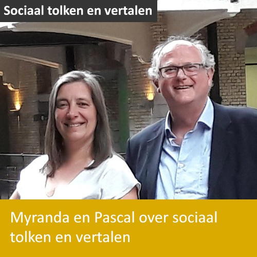 Knop. Lees het interview met Myranda en Pascal over sociaal tolken en vertalen