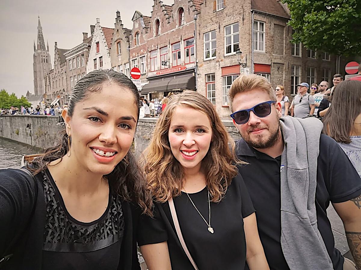 Foto. Uitstap naar Brugge.