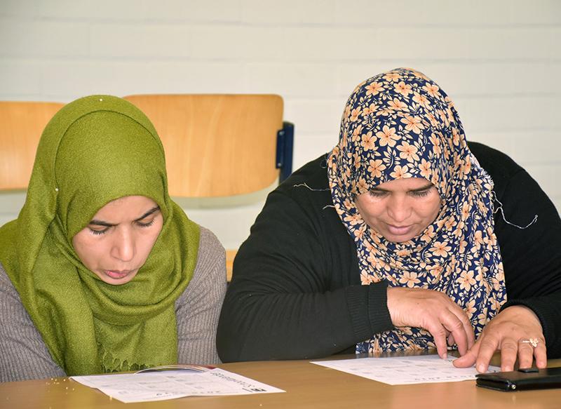 Foto. Deelnemers Schoolbabbels Harelbeke.