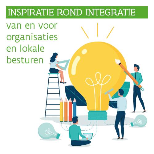 Knop. Inspiratie rond integratie van en voor organisaties en lokale besturen.