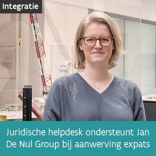 Knop. Lees het interview met Elke Wauters van Jan De Nul Group.
