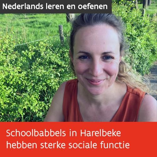 Knop. Lees het interview met Bren De Rycke over Schoolbabbels in Harelbeke